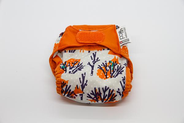 Pop-in bolquers de tela acabats de néixer guineu