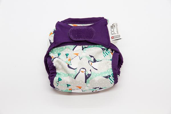 Pop-in acabat de néixer pinguino bolquers de tela